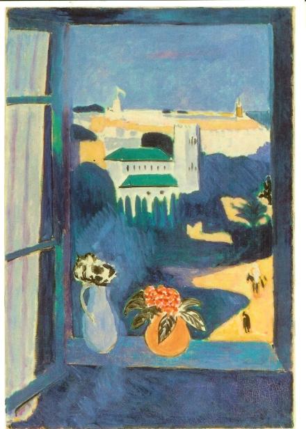Henry Matisse, 1913. Desde el Hotel Villa Francia. The Pushkin Museum of Fine Arts, Moscú.